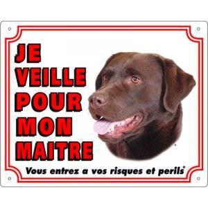 Vadigran Panneau Labrador Retriever chocolat