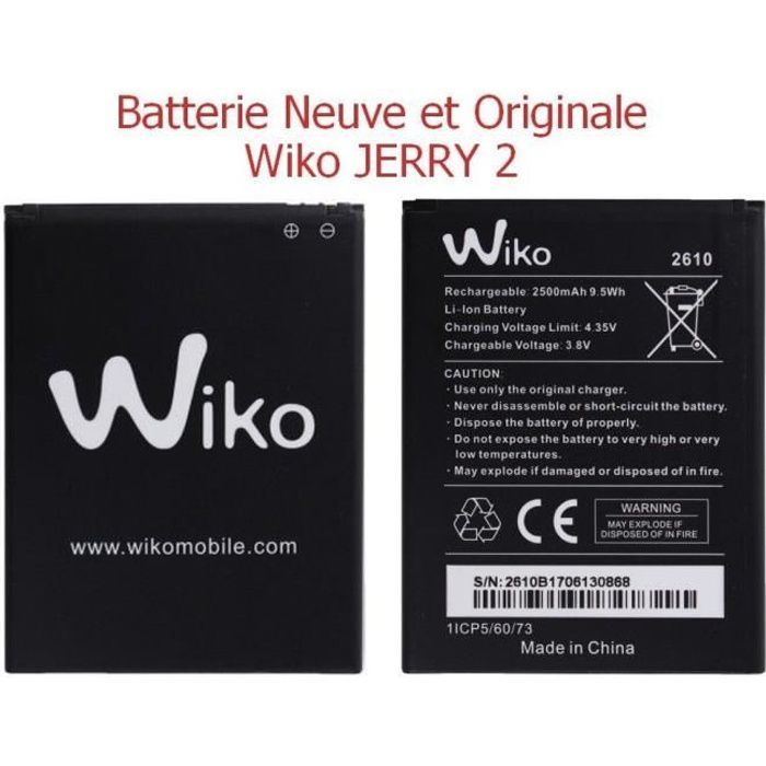 Batterie Wiko Jerry 2