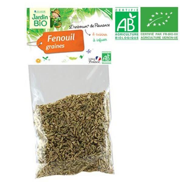 JARDIN BIO Fenouil graines bio - 50 g