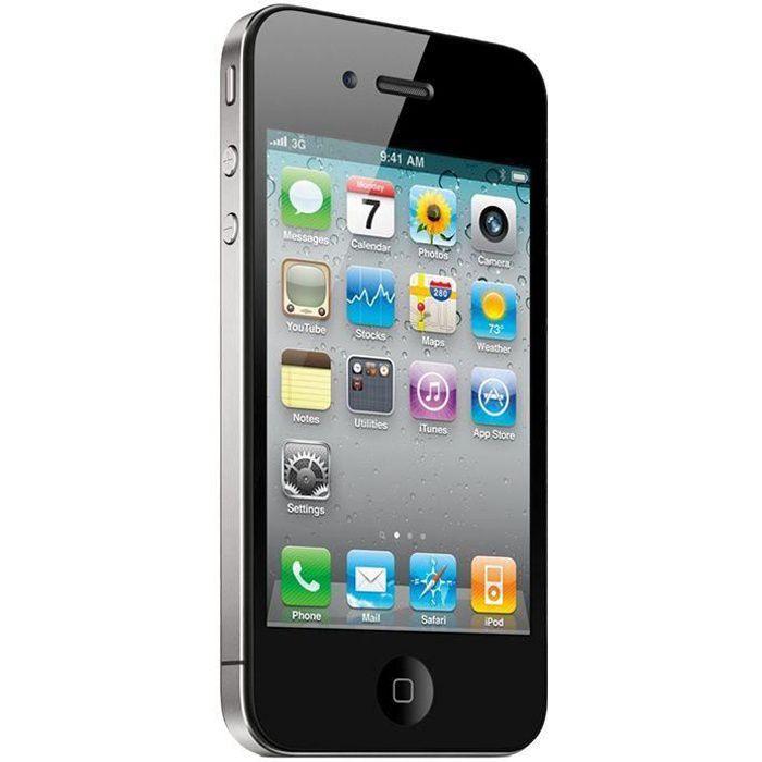 APPLE Iphone 4S 16Go Noir - Reconditionné - Très bon état