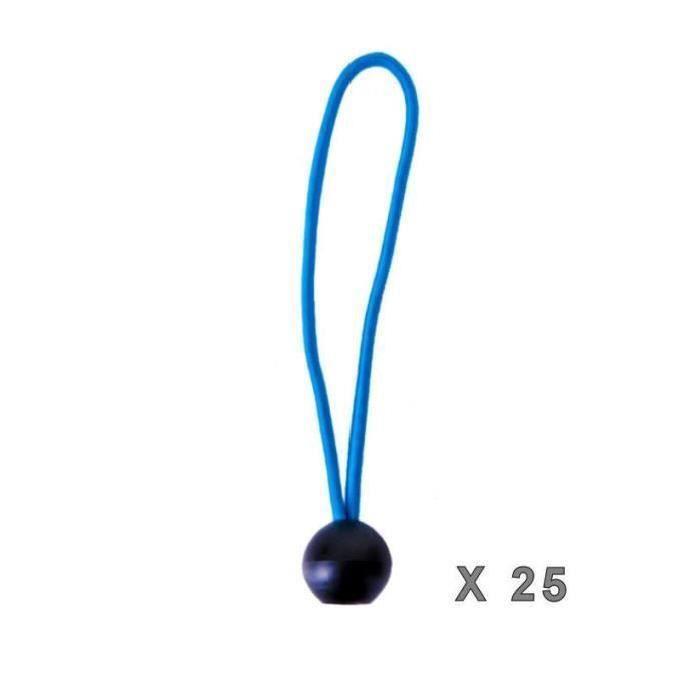 Lot de 24 Basics Tendeur /élastique