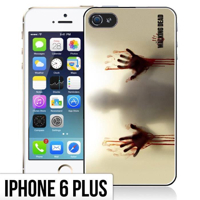 coque iphone 6 plus 6s plus the walking dead ma