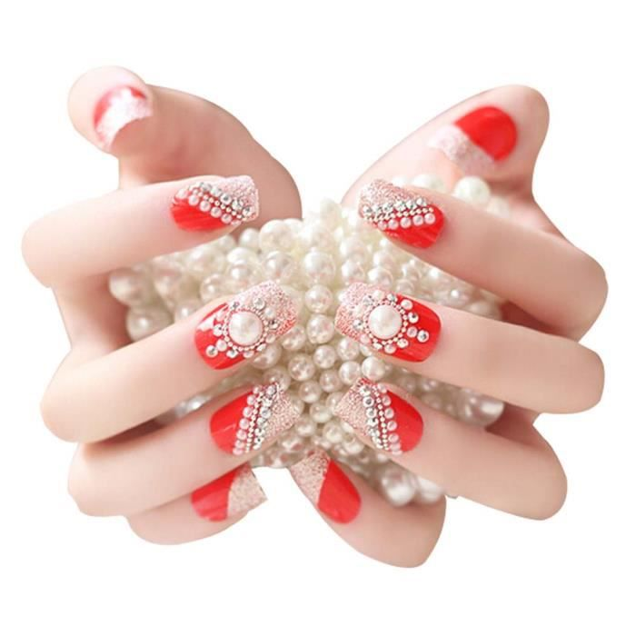 beaux ongles pour mariage. Black Bedroom Furniture Sets. Home Design Ideas