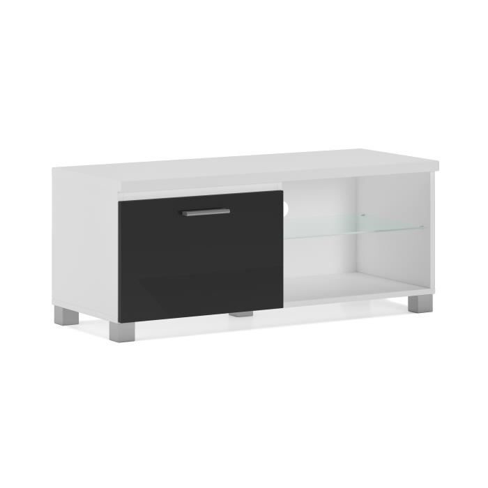 meuble tv 100cm achat vente meuble tv 100cm pas cher cdiscount. Black Bedroom Furniture Sets. Home Design Ideas