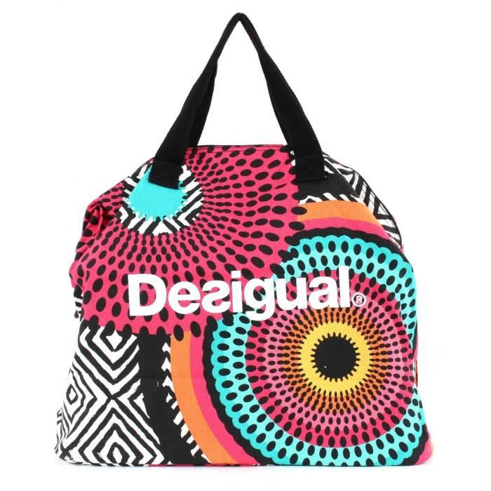 desigual sac a main maxi bag achat vente serviette de plage cdiscount. Black Bedroom Furniture Sets. Home Design Ideas