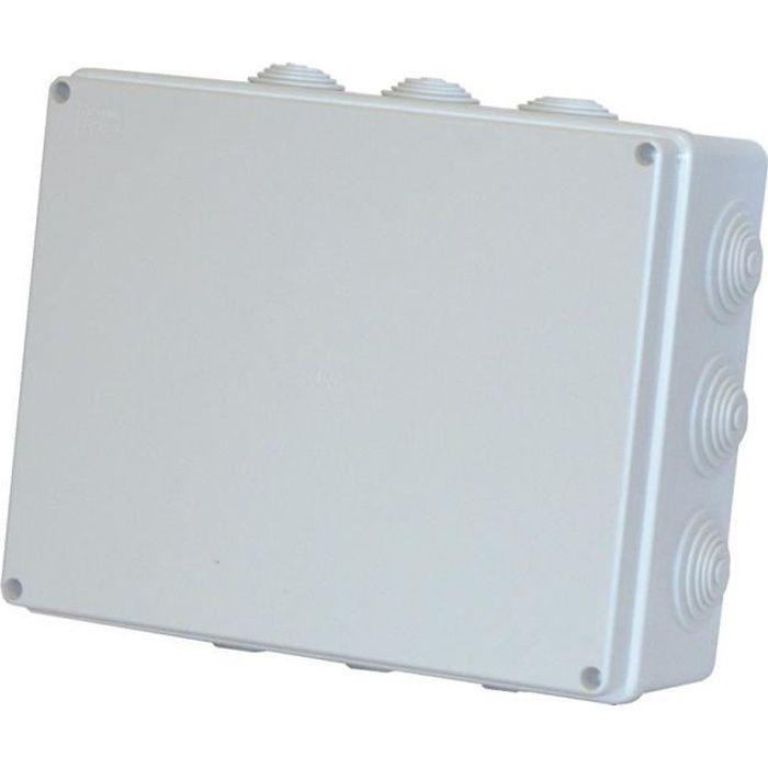 Boîte de dérivation étanche Simple gris