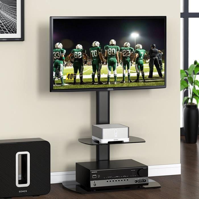 FIXATION - SUPPORT TV FITUEYES Meuble avec Support Cantilever Télé Pied