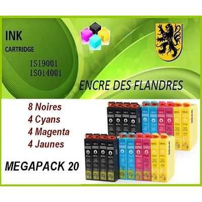 megapack generique pour epson xp312 xp315 xp412 xp415 xp212 xp225 xp322 xp422. Black Bedroom Furniture Sets. Home Design Ideas