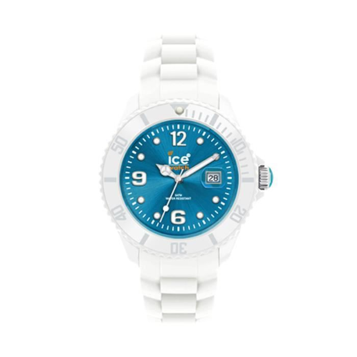 montre ice watch sili turquoise si wt u bleu turquoise achat vente montre cdiscount. Black Bedroom Furniture Sets. Home Design Ideas