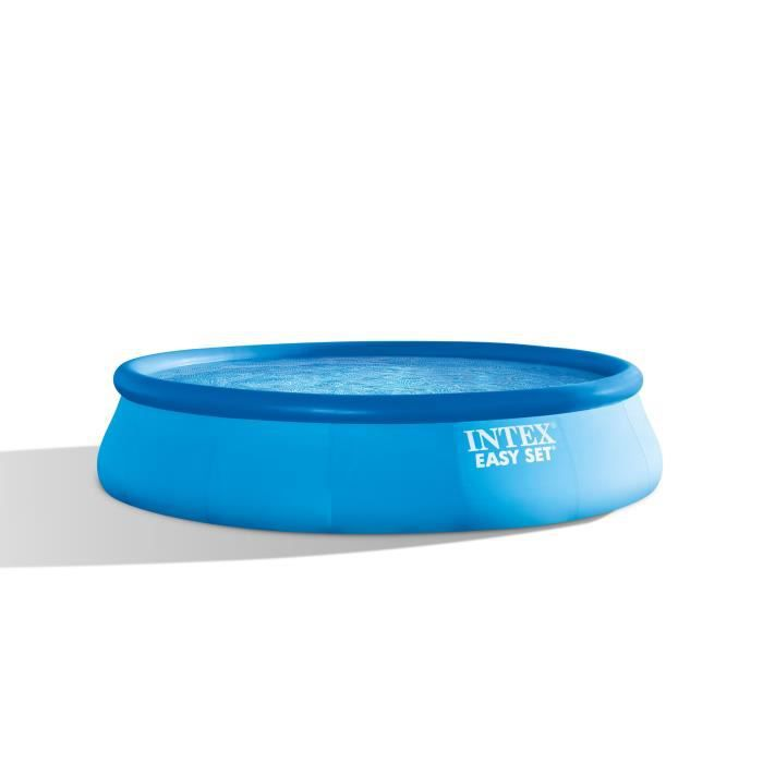 intex easyset piscine autostable 4 57 x 1 07 m achat vente kit piscine piscine autostable. Black Bedroom Furniture Sets. Home Design Ideas