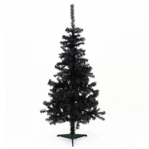 sapin de noel artificiel roi des pins noir 120cm achat vente sapin arbre de no l pin. Black Bedroom Furniture Sets. Home Design Ideas