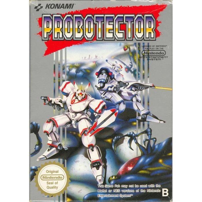 Jeux vidéo en vrac Probotector-nes