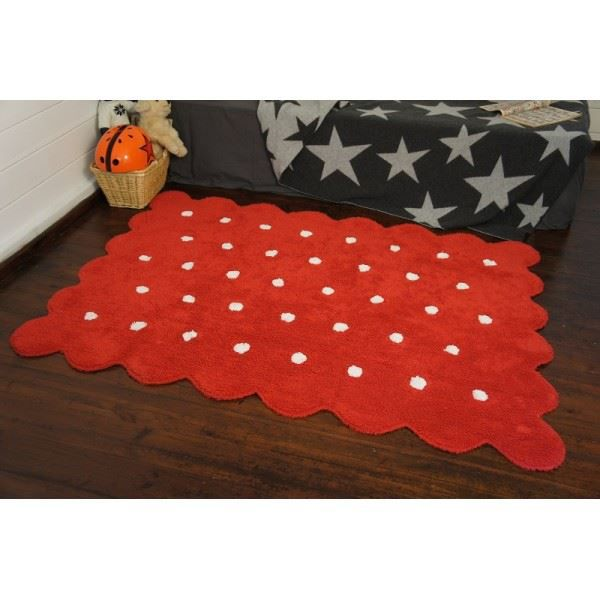 tapis de sol enfant 120x160 cm biscuit rouge achat vente petit rangement 8435392600095. Black Bedroom Furniture Sets. Home Design Ideas