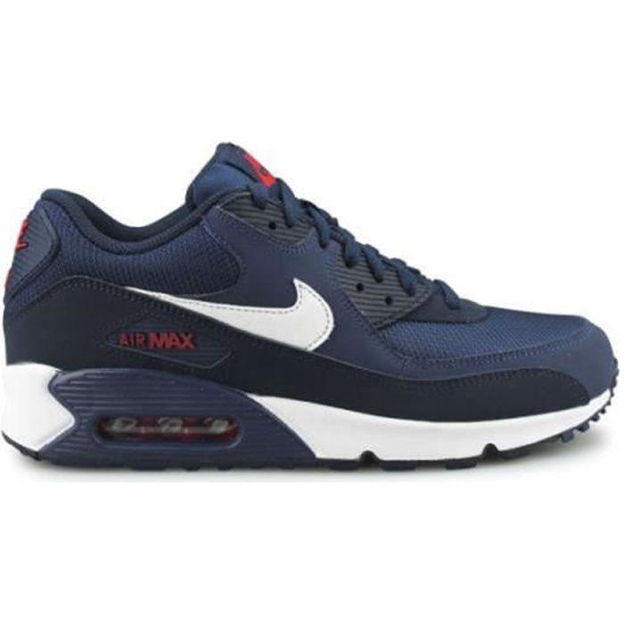 Basket Air Max 90 Essential bleu chaussure pour Homme Femme Bleu ...
