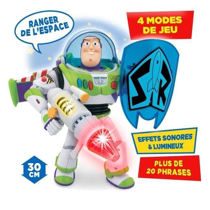 toy story figurine lectronique buzz l 39 eclair power blaster 30cm achat vente figurine. Black Bedroom Furniture Sets. Home Design Ideas