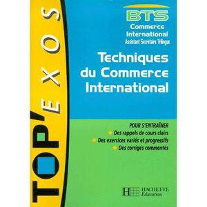 AUTRES LIVRES Techniques du commerce international bts commer...