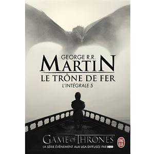 LIVRE FANTASY Le Trône de fer l'Intégrale (A game of Thrones) In