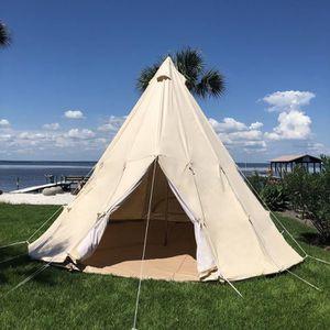 TENTE DE CAMPING Tente de Tipi de Camping Indien de Coton dans le D