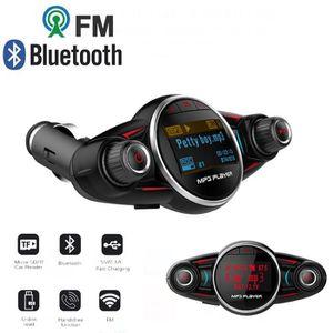TRANSMETTEUR FM Transmetteur FM Bluetooth voiture Adaptateur Radio