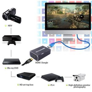 AUTRE PERIPHERIQUE USB  USB3.0 Free Drive HDMI HD Video Capture Game Recor