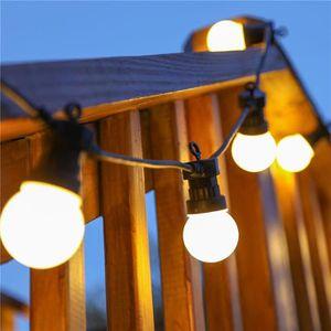 GUIRLANDE D'EXTÉRIEUR LED Lampe Extérieure Imperméable À L'eau Lampe Cou