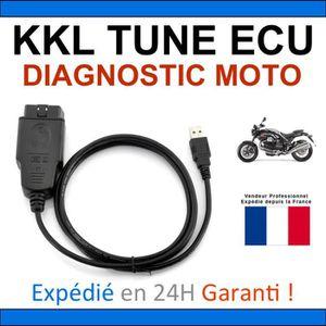 OBD2 vers 3 broches Adaptateur TUNEECU compatible Diagnostic Motos Ducati