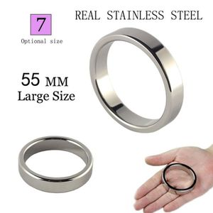 ANNEAU - COCKRING TO Heavy Metal Cock Ring for Men 55mm Stainless St