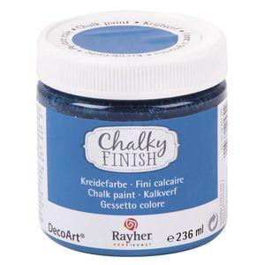 PEINTURE ACRYLIQUE Peinture craie Chalky Pour Matériau poreux Bleu az