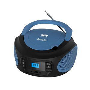 RADIO CD CASSETTE Lauson LLB993 Radio Lecteur CD Portable. Radio FM,
