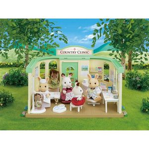 FIGURINE - PERSONNAGE SYLVANIAN FAMILIES 2815 Cabinet médical