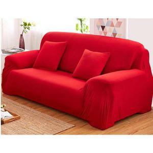HOUSSE DE CANAPE Housse de canapé-fauteuil 3 places-personnes clic