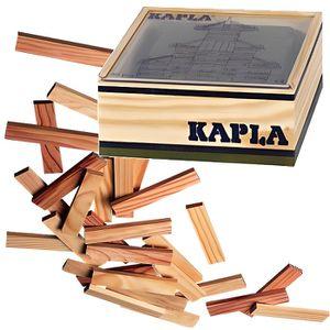 ASSEMBLAGE CONSTRUCTION KAPLA Coffret Bois 40 Planchettes - Vert
