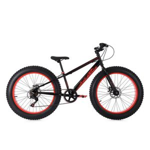 "WD 24/"" X 1.95/"" Thick Tread Noir Junior//Adultes//Vélo//Bicyclette Pneu NEUF RARE"