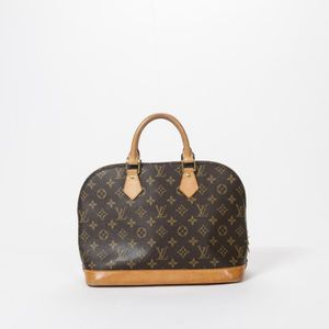 SAC À MAIN Louis Vuitton - Sac à main - Monogram Canvas Brown ... 69a7a5ce837
