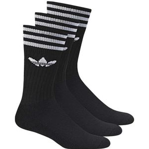 CHAUSSETTES MULTISPORT Chaussettes Adidas Originals Solid Crew Socck X3