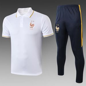 Ensemble de vêtements Maillot de l'équipe de France chemise polo Combina