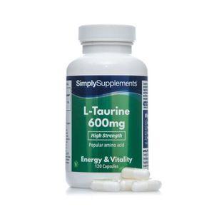 TONUS - VITALITÉ L-Taurine 600mg | 120 Gélules