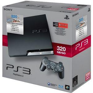 CONSOLE PS3 Console ps3 slim 320 go