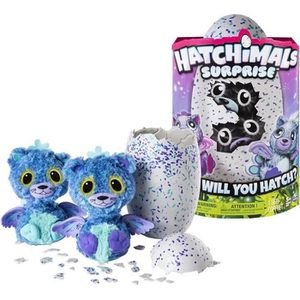 PELUCHE HATCHIMALS Surprise Bleu Violet Spinmaster