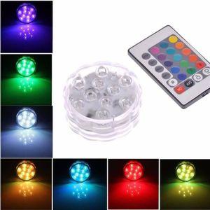 PLAFONNIER 24 Touches Télécommande+Multicolore Bougie LED Lam