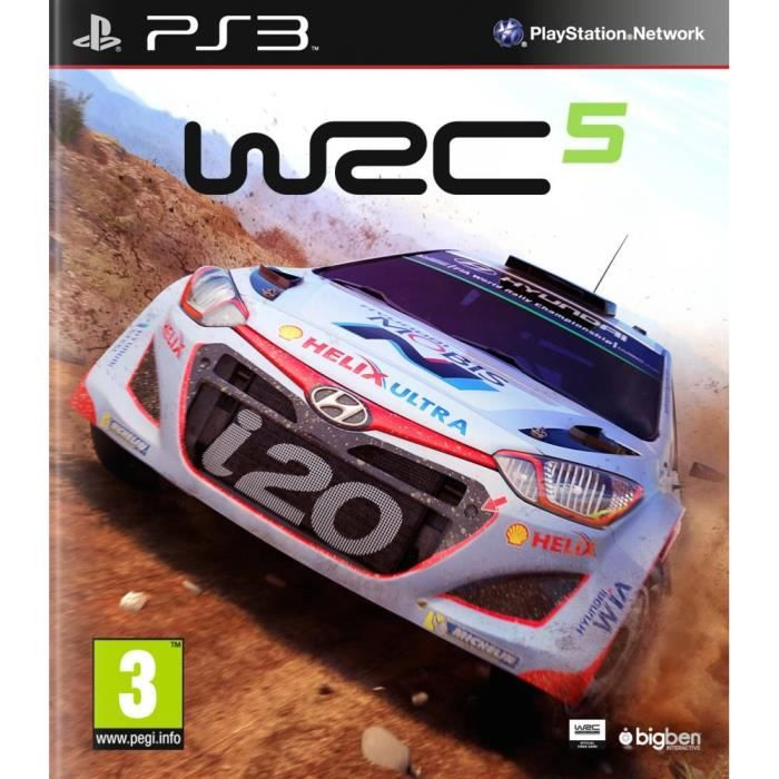 wrc 5 jeu ps3 achat vente jeu ps3 wrc 5 ps3 cdiscount. Black Bedroom Furniture Sets. Home Design Ideas