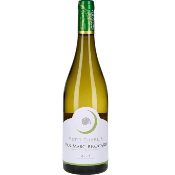 Vin Blanc - Petit Chablis Jean-Marc Brocard 2018 - Bouteille 75cl