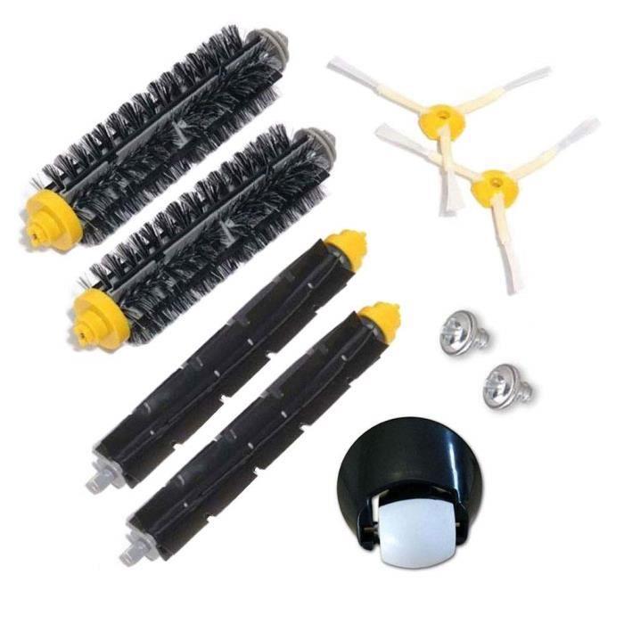 Unny 9 pcs kit de brosse pour iRobot Roomba 500 600 Série 700 Accessoires pour aspirateur