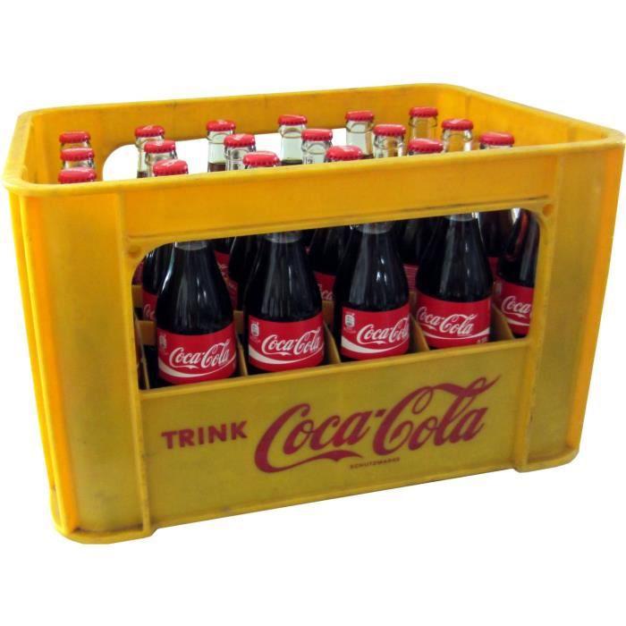 24 x Coca-Cola Classique 0.33L Cas d'origine bouteille en verre