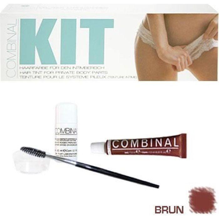Kit de teinture intime Combinal, Brun