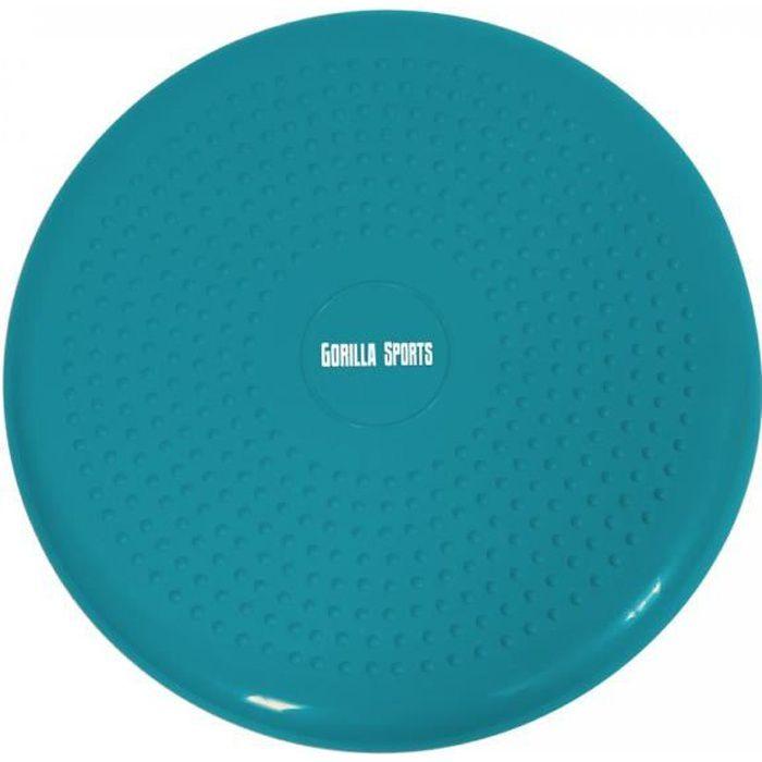 Coussin d'assise gonflable avec picots ⌀ 33 cm - BLEU Turquoise