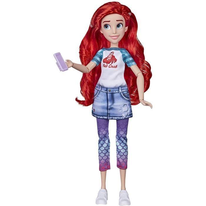 Disney Princesses - Poupee tendance Comfy Squad Ariel - 30 cm