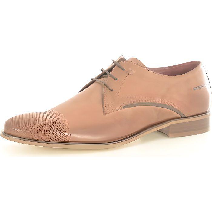 Chaussures de ville cuir Ospina-REDSKINS Marron Homme