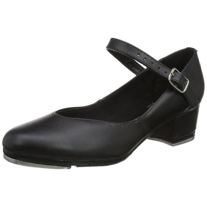 Chausson De Danse femmes chaussures de claquettes ta44 Q5HRO Taille-36