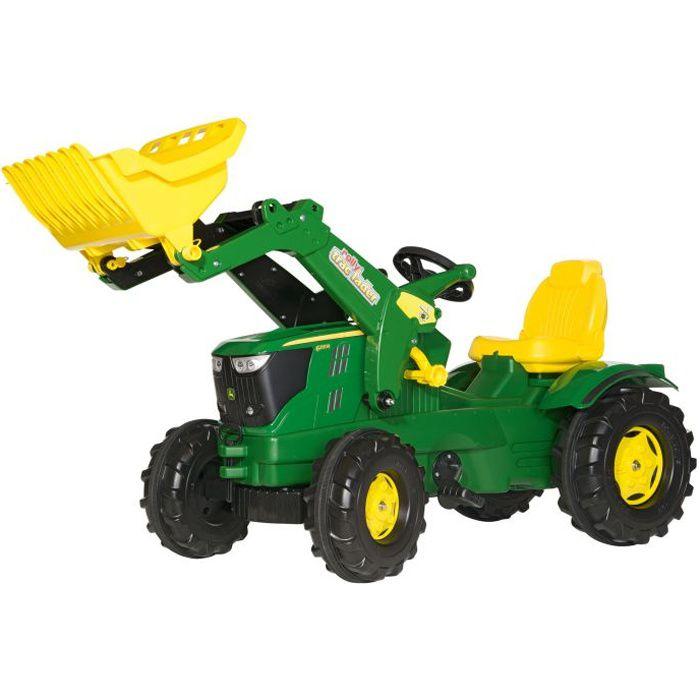 JOHN DEERE 6210R avec chargeur Série Rolly FarmTr…